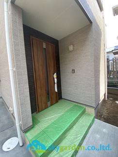 【玄関】茅ヶ崎市萩園 新築戸建 1棟