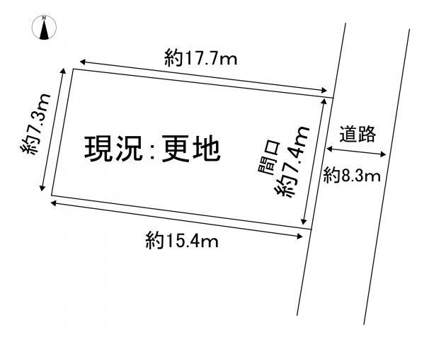 【土地図】売地 蒲郡市形原町東中畑7-1