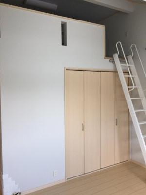 2階中洋室ロフトです。