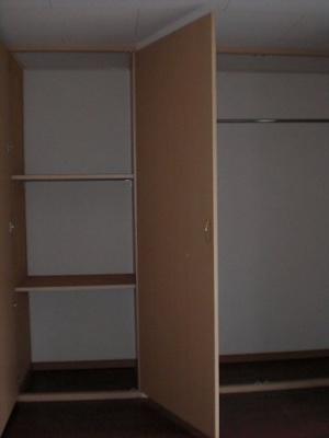 充実した収納スペース