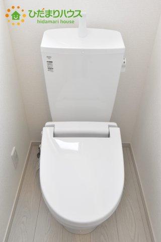 【トイレ】伊奈町西小針 1期 新築一戸建て 02