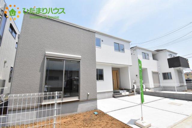 【外観】伊奈町西小針 1期 新築一戸建て 02
