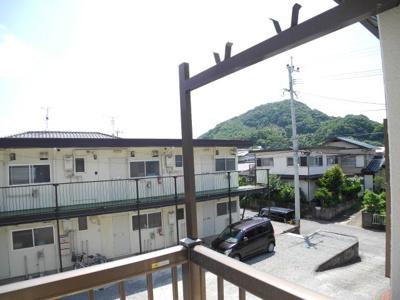 【展望】井上ハイツ コスモス荘
