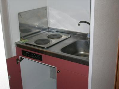 【キッチン】レオパレスフジミハイツC