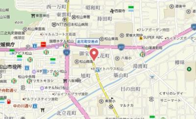 【地図】Aハウス此花