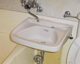 洗面台もついてます