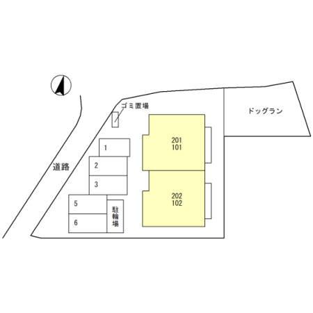 【区画図】Droom伊丹市中野北