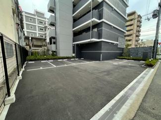【駐車場】S-RESIDENCE三国WEST