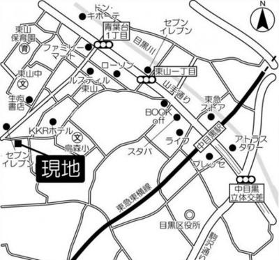 【地図】 目黒LFV