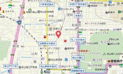 【地図】キララ・ロジュマン・