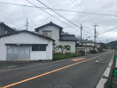 【前面道路含む現地写真】鳥取市浜坂2丁目 土地
