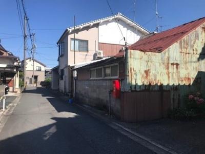 【前面道路含む現地写真】鳥取市吉方町2丁目 土地