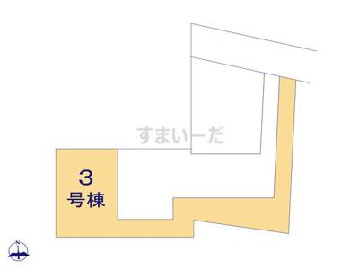 【区画図】リーブルガーデンS池田市緑丘3期