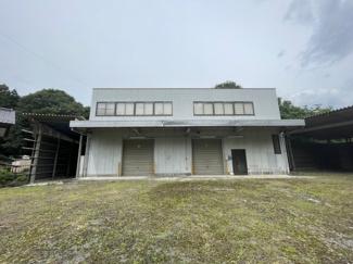 【外観】千旦林事務所・倉庫