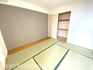 和室6.3帖です♪足を伸ばして寛げる居室です!小さなお子様の遊びスペースとして・お客様部屋として色々活躍してくれますね(^^)