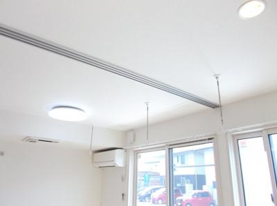 エアコン、室内物干し、全室照明、空気清浄機付きです!