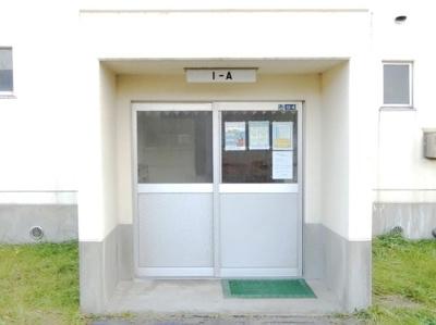 【エントランス】ビレッジハウス勝平2号棟