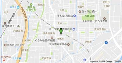 【地図】めぞんたきがわ
