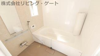 お風呂は一坪バスでゆったりとつかれます