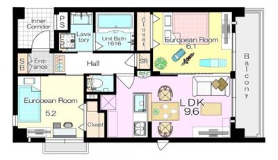 家具配置例