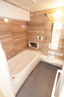 浴室乾燥、浴室テレビ付きのリラックス空間♪
