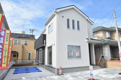 【外観】鴻巣市広田(赤城)新築戸建全2棟