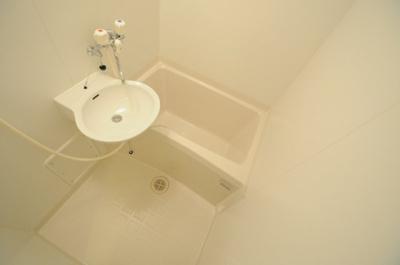 【浴室】レオパレスグレイス清水