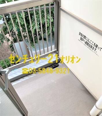 【バルコニー】レスピール富士見台(フジミダイ)-3F