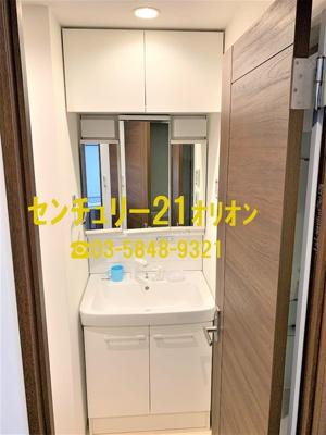 【洗面所】レスピール富士見台(フジミダイ)-3F