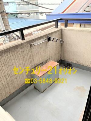 【バルコニー】フローラ富士見台(フジミダイ)-3F