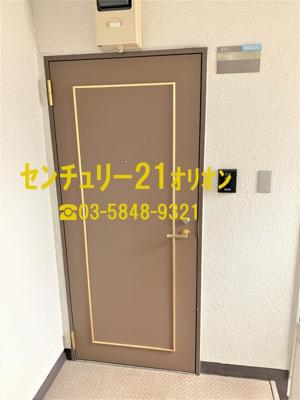 【玄関】フローラ富士見台(フジミダイ)-3F