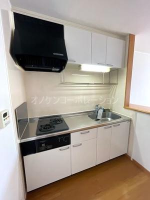 【キッチン】ウィルヴェスティージ弐番館