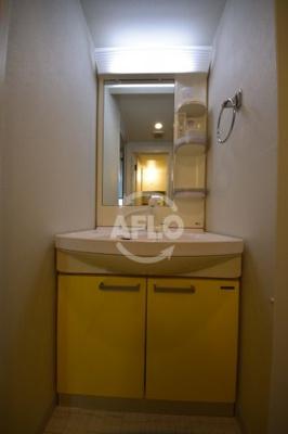 コーポYAHATAナンバ元町 独立洗面化粧台