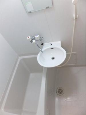 浴室換気乾燥機付。洗濯物も乾かせます。