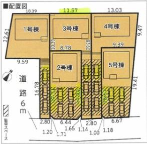 【区画図】長泉町下長窪第1 新築戸建 1号棟