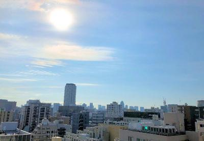 【展望】エクメーネ日本橋 13階 角 部屋 1999年築 リ ノベーション済