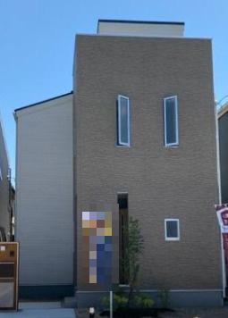 【外観】東海市富木島町伏見1丁目の新築一戸建て5号棟