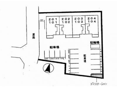 【区画図】パティオ・ソーレ