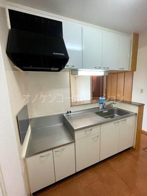 【キッチン】パティオ・ソーレ
