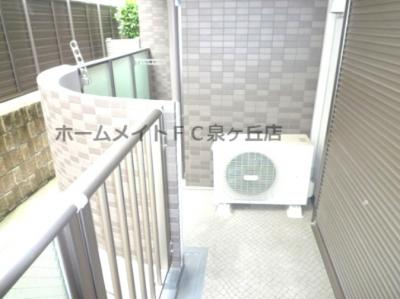 【バルコニー】YF泉ヶ丘