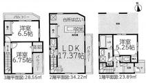名古屋市中村区名駅南5丁目2−1 【仲介手数料無料】新築一戸建て 2号棟の画像