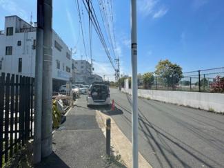 【前面道路含む現地写真】新築一戸建 川崎市幸区北加瀬3丁目 1号棟