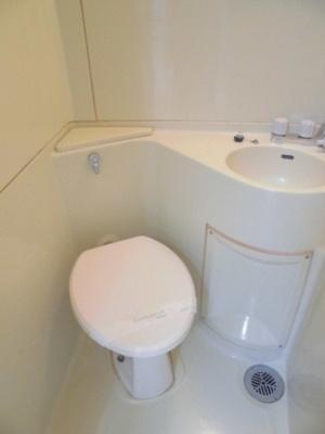 【トイレ】桧台ハイツ