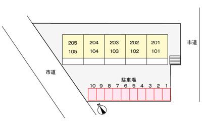 【区画図】ニューシティ石井