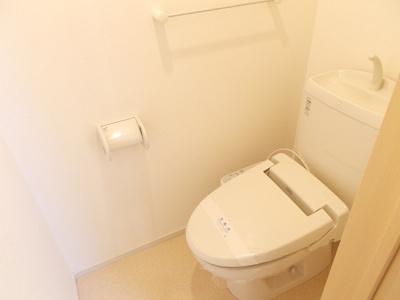 【トイレ】クリスタルメゾン雲雀1