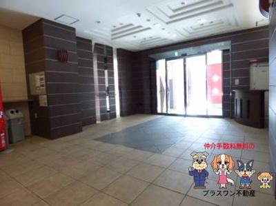【ロビー】プライムアーバン安堂寺