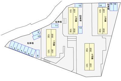 【区画図】ヴィクトリアガーデン1