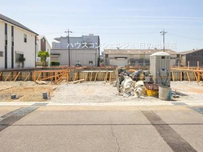 【前面道路含む現地写真】名古屋市北区如来町16【仲介手数料無料】新築一戸建て