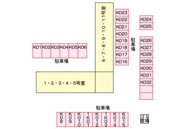 【区画図】グラディオ・AKAYAMA