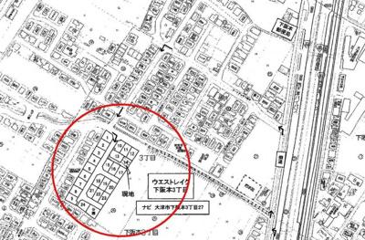 【区画図】大津市下阪本3丁目26-25 新築戸建